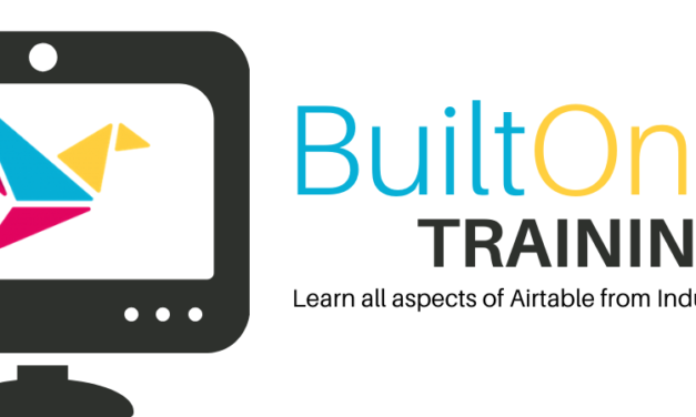New BuiltOnAir Training Program!