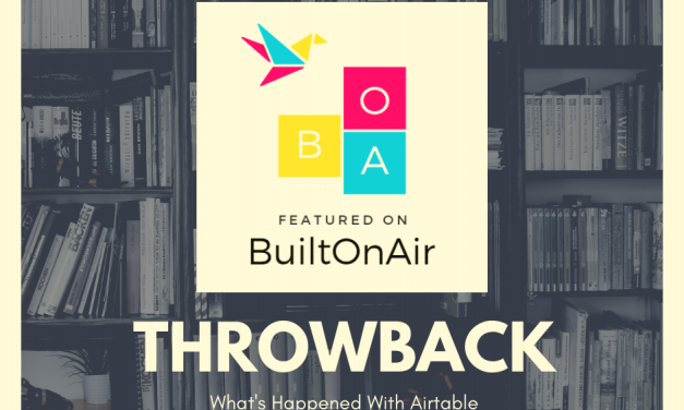 BuiltOnAir Throwback – How to Manage VC with Airtable