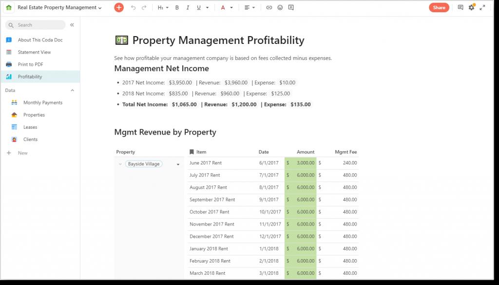 Coda_Property Manager