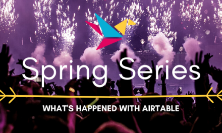 Spring Series – How to Use Airtable to Track Your Habits