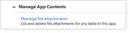 manage file attachments