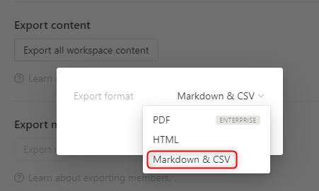 markdown_csv
